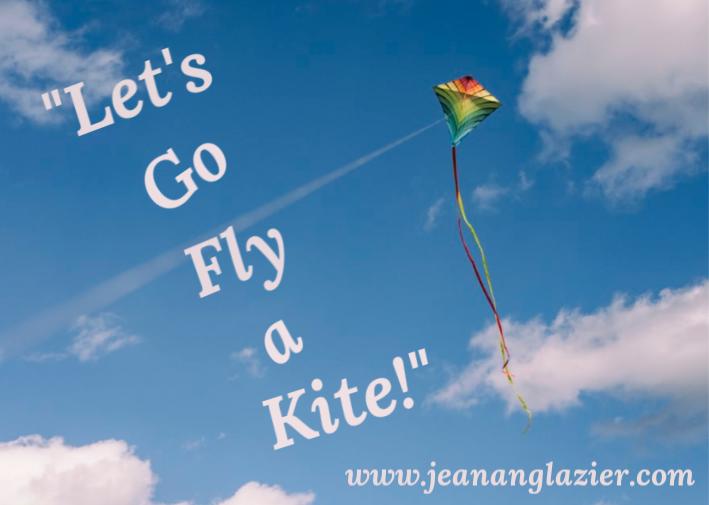 Kite Flying Against Blue Sky